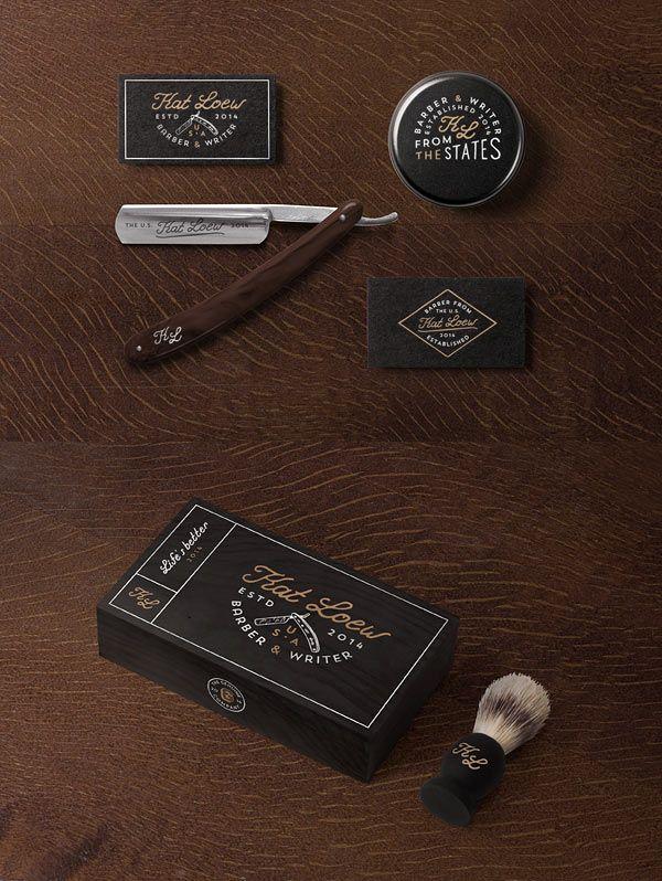 55 dapper branding design projects for barber shops colourmoves