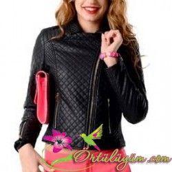 Tozlu Giyim Deri Ceket Modelleri Fashion Jackets Athletic Jacket