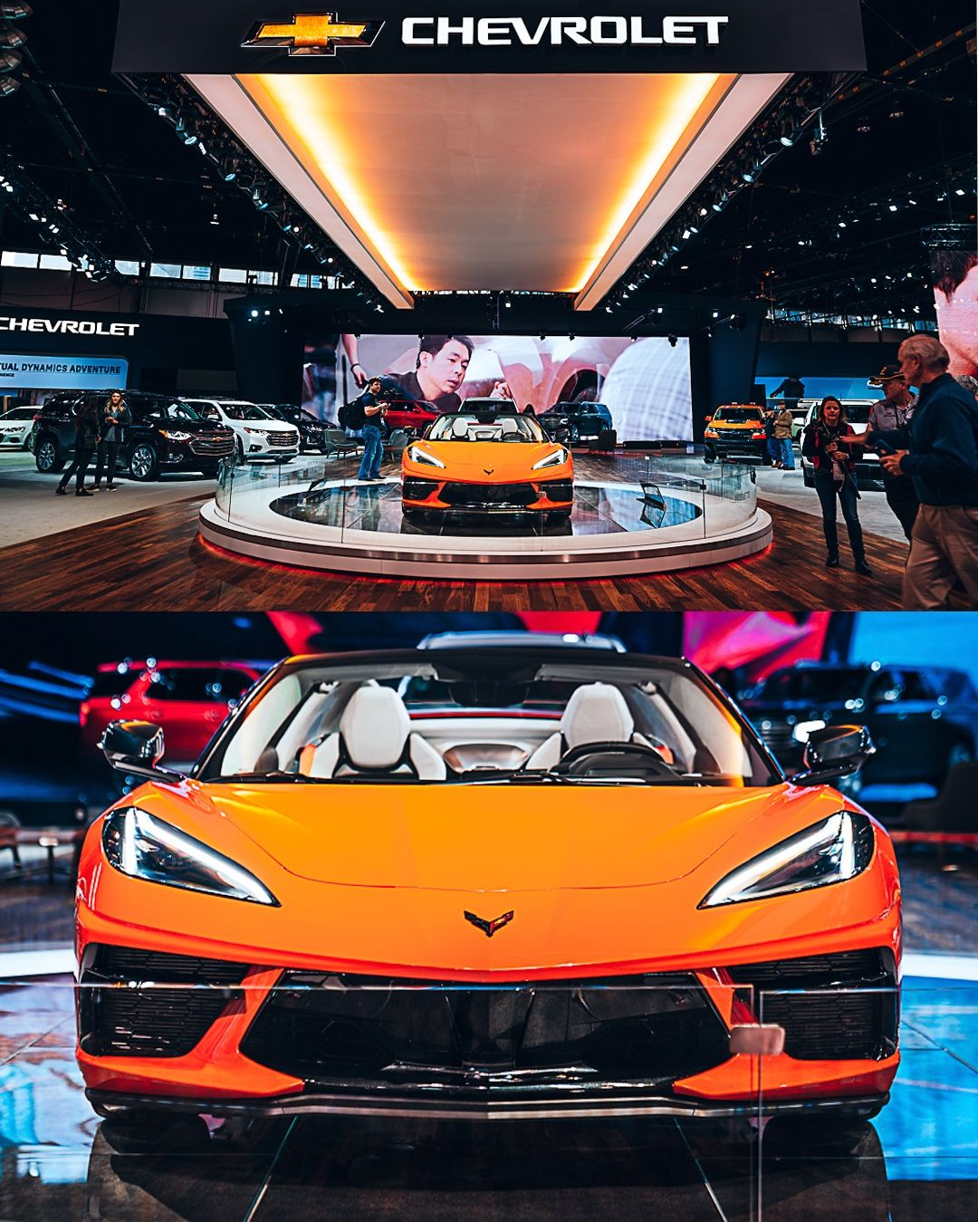 Who went and who's still going to the 2020 @thechicagoautoshow ? 🙋♂️ Posting auto show pics all week long ‼️Post Notifications On ‼️ don't miss the mid-engine C8 Corvette. So many more awesome displays this year 💪 stay tuned! #jiddmotors 📸 @nem_skadarka #chicagoautoshow #chicagoautoshow2020 #mccormickplace #chiago