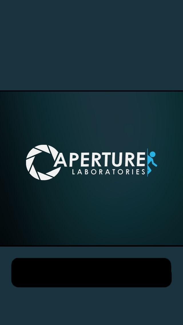 Aperture Labs #Portal | Free Mobile Phone Wallpapers | Pinterest | Iphone 5 wallpaper, Portal 2 ...