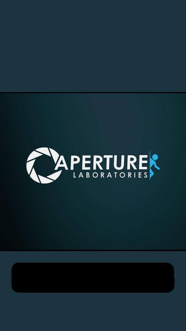 Aperture Labs Portal Aperture Science Iphone 5 Wallpaper