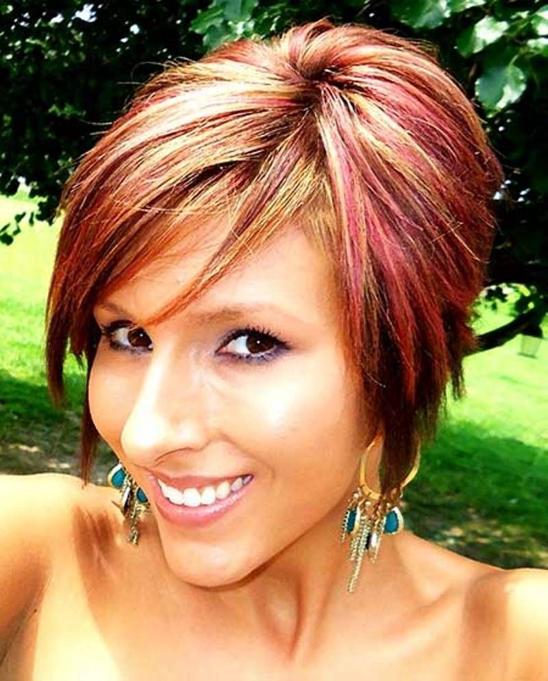 Funky Hair For Short 2016 ~ Hairstyles 2016 and Trends | Short hair color,  Funky hair colors, Cool hair color