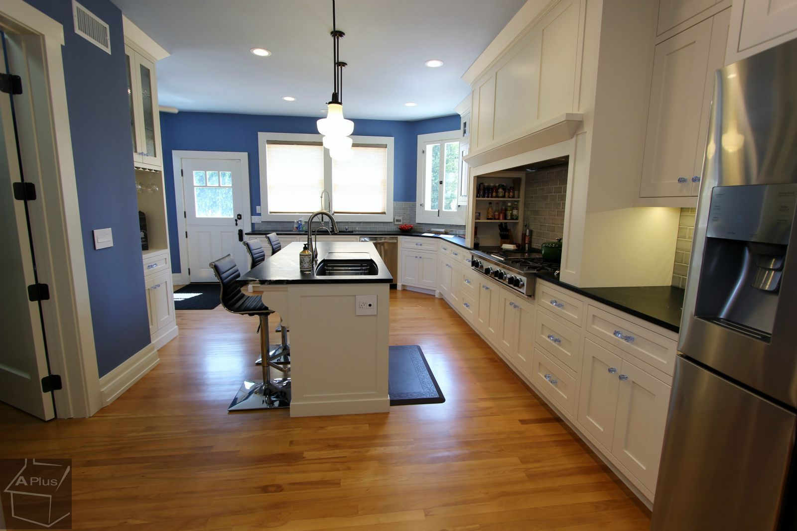 Placentia kitchen remodel, modern traditional custom design build ...