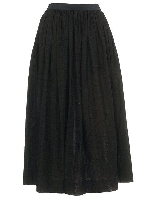 Gathered Full Skirt free