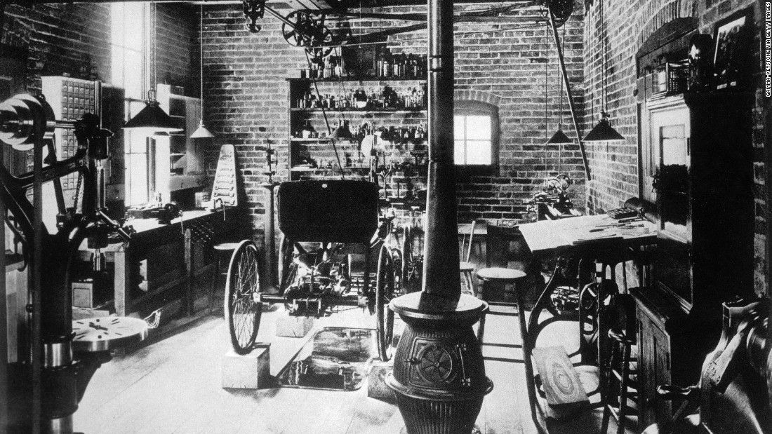 The 1890 workshop Henry Ford built his first car in! #henryford ...