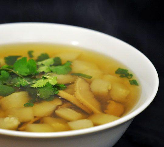Vegetarian Recipe: Winter Melon Soup #wintermelon