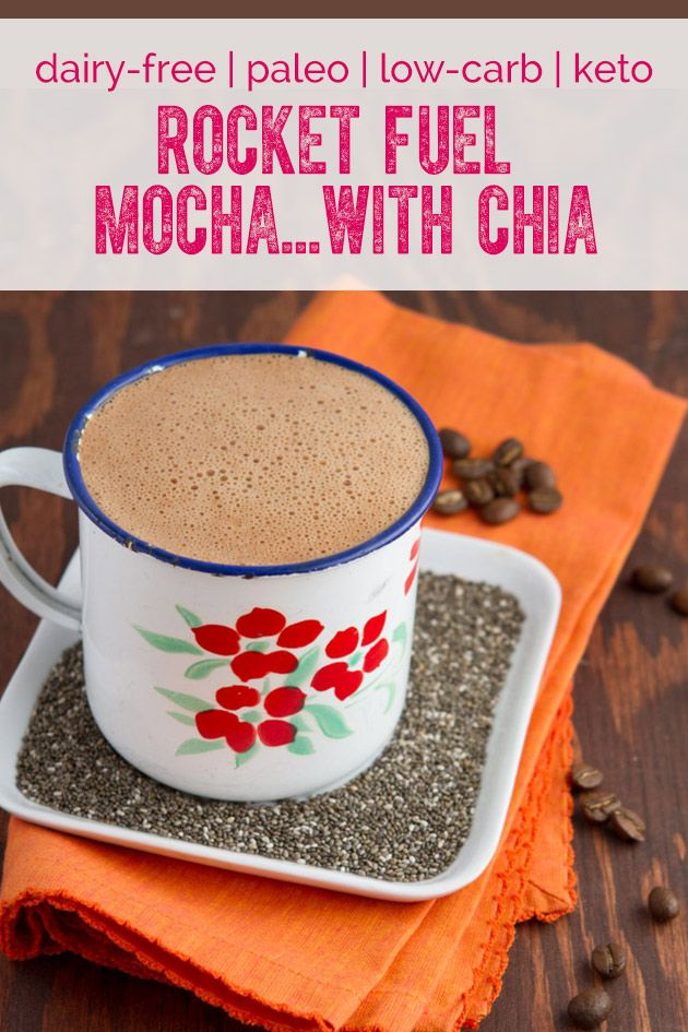 Rocket Fuel Cafe Mocha with Chia Seeds