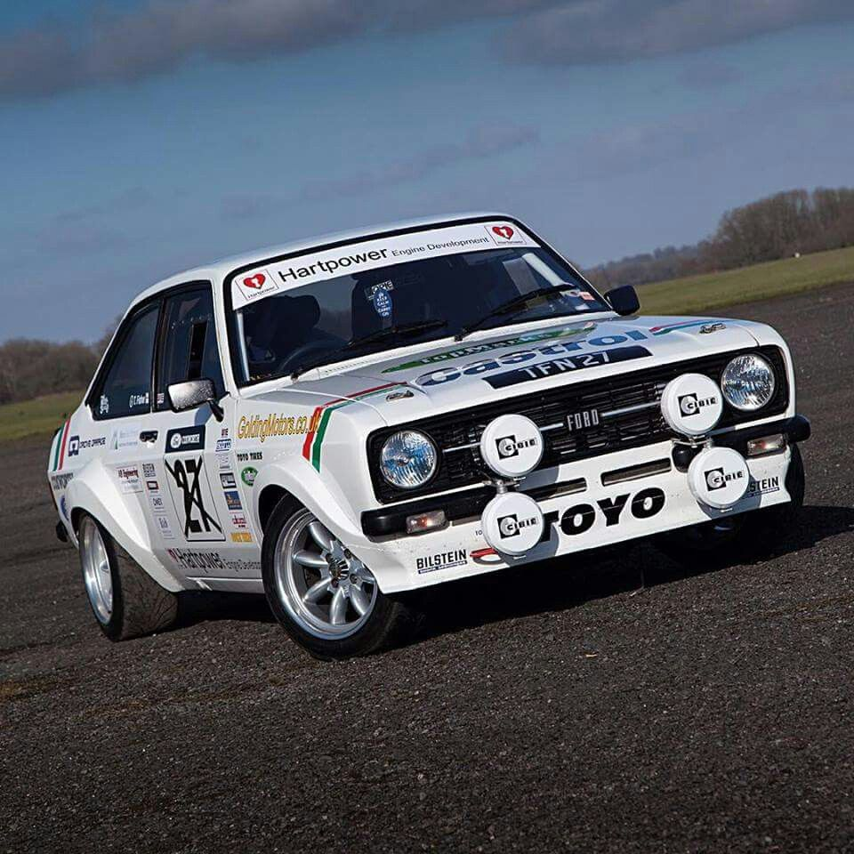 Mk2 Escort | rallye and racing cars | Pinterest | Ford escort, Mk1 ...