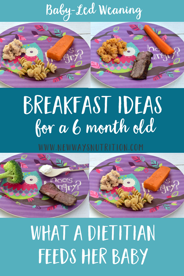 How to Make Balanced Breakfasts for Your 6 Month Old ...