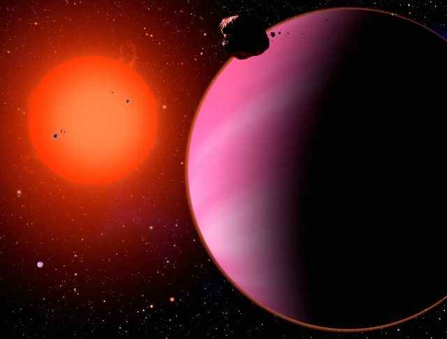 Water found in a Neptune-sized exoplanet's atmosphere ...
