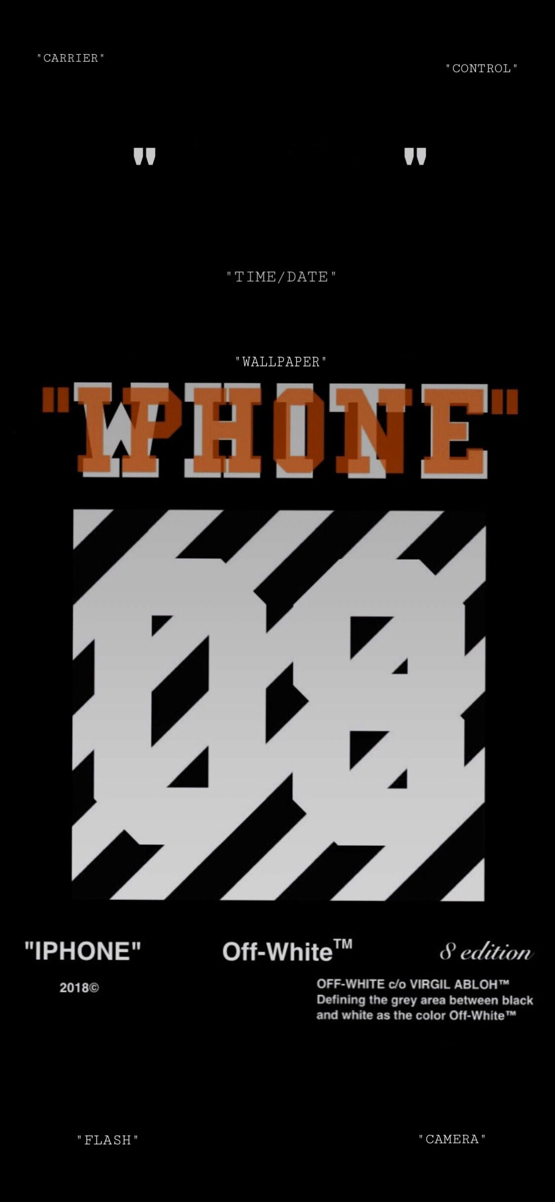 Offwhite Wallpaper For Iphone X Seni
