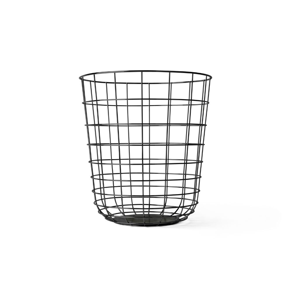 Powder-Coated Wire Trash Bin | Trash bins, Architecture and Interiors