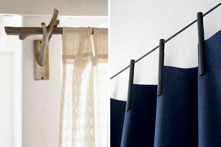 Tendencias en decoración con cortinas cortinas Pinterest