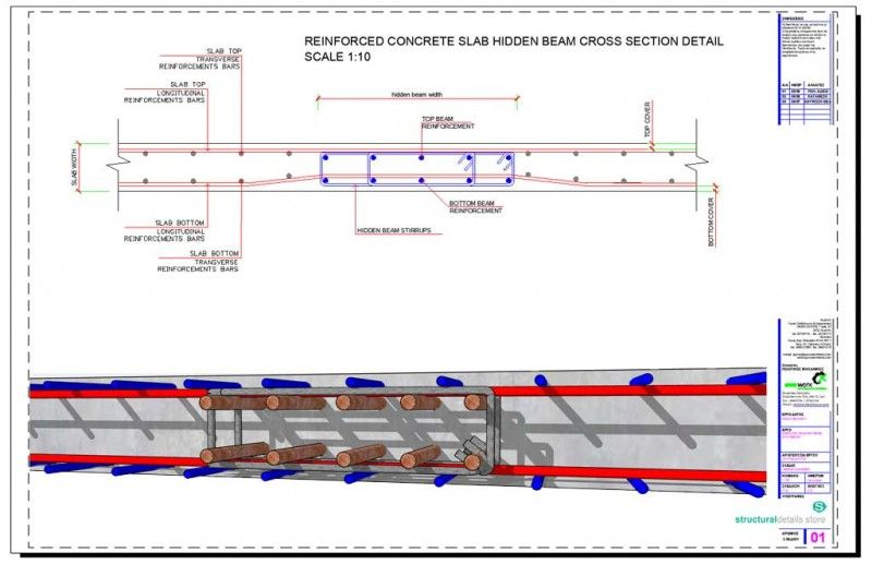 Cantilever Concrete Beam Reinforcement Detail With Adjucent Continuous Beam In 2020 Reinforced Concrete Beams Concrete Retaining Walls