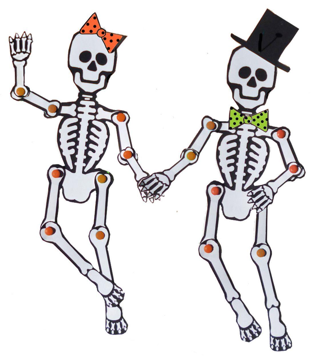 Skeleton Template Printable