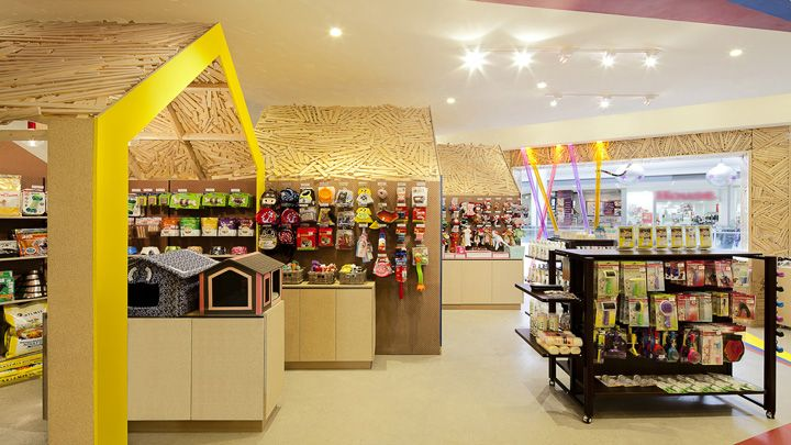 Pets Carnival Store By Rptecture Architects Melbourne Australia Retail Design Blog