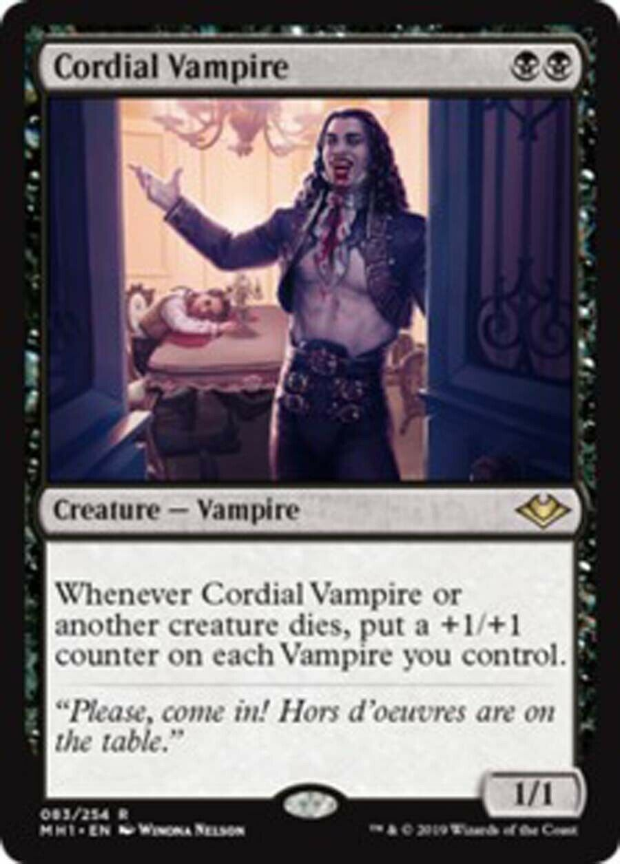 MtG Magic the Gathering Human Vampire Deck