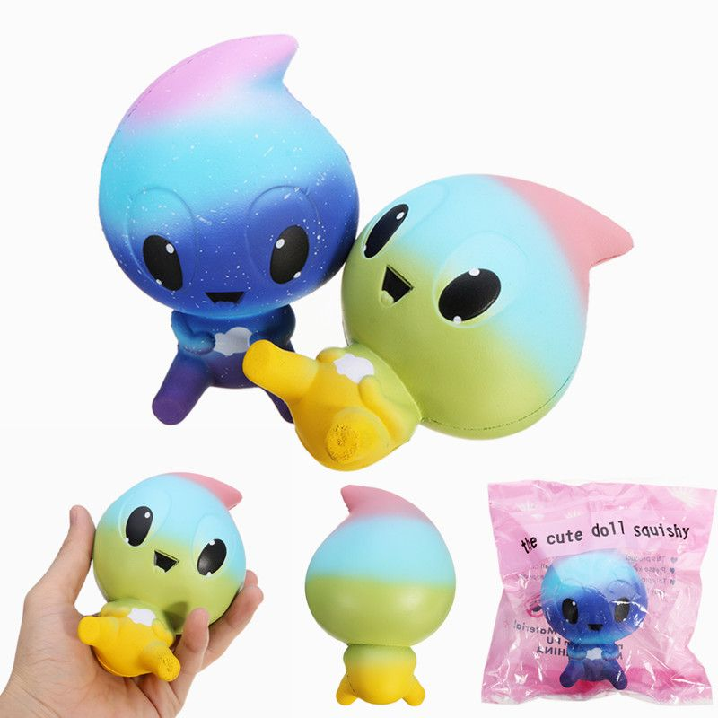 Squishy Doll Jellyfish Cute Cartoon Animal Slow Rising Toy Gift Collection