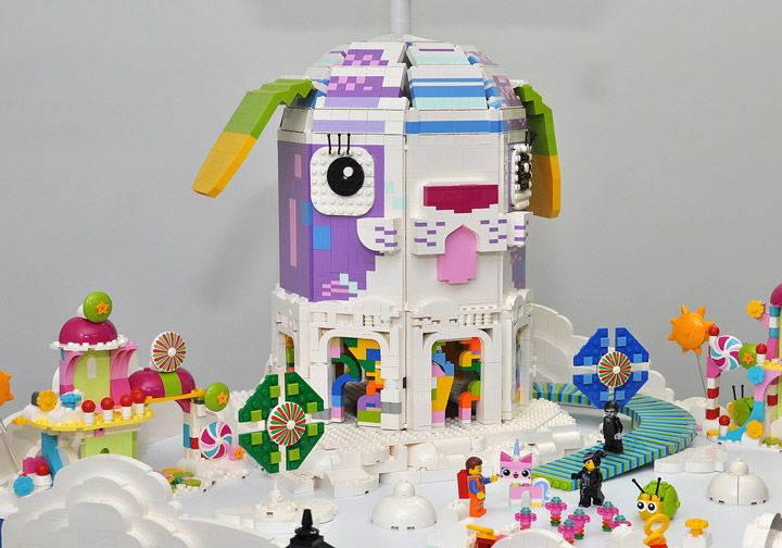 Oliveseons The Lego Movie Cloud Cuckoo Land Lego Party Ideas