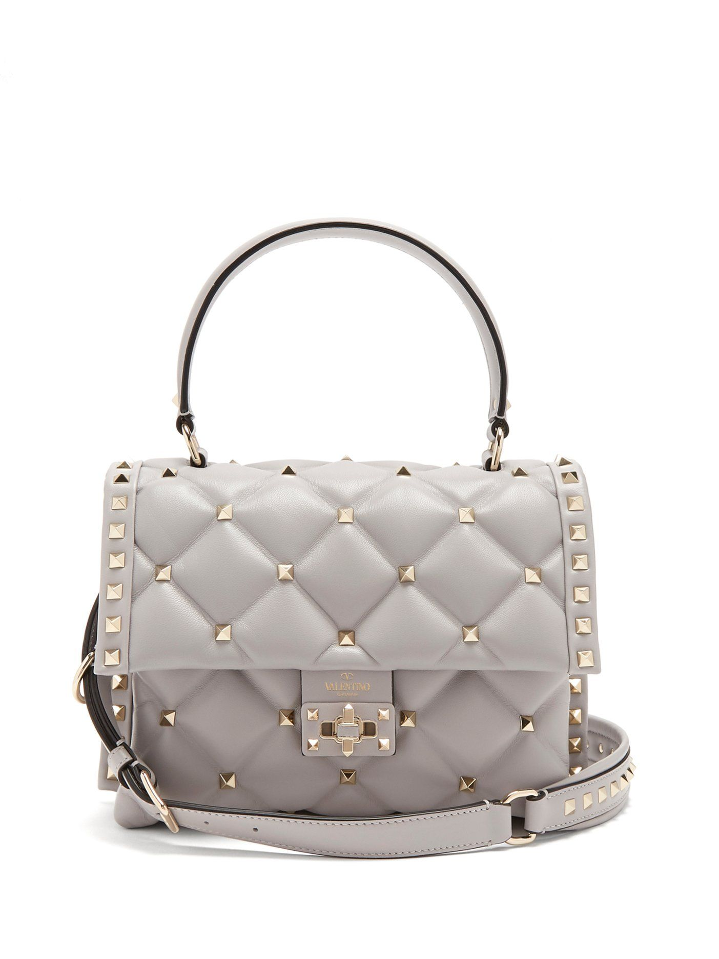 Candystud quilted-leather shoulder bag Valentino Free Shipping Many Kinds Of Discount Sale Good Service Cheap Sale Amazon Hot Sale rcdch
