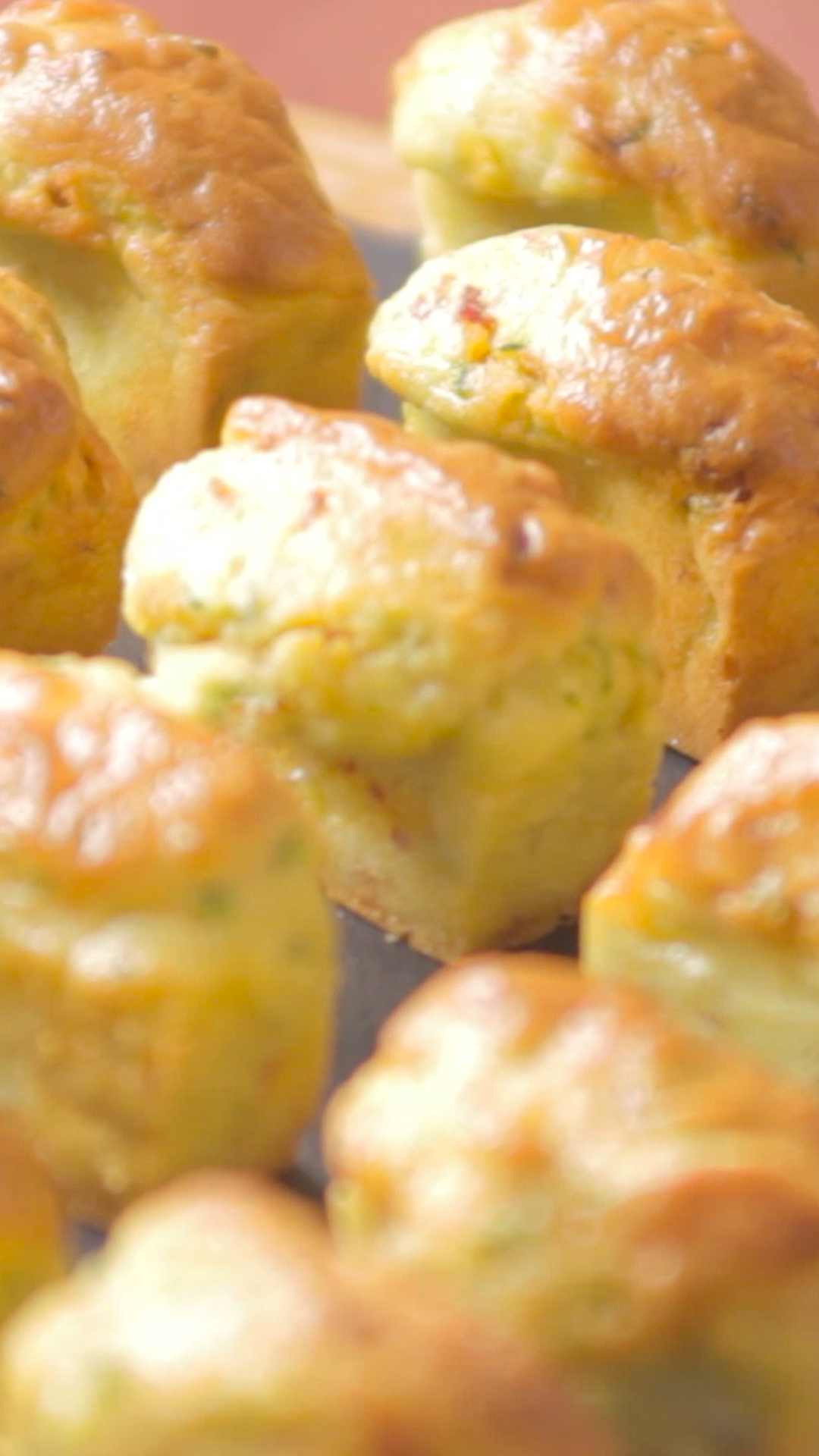 Madeleines Chorizo Courgettes Amandes #chefclubrecettevideos