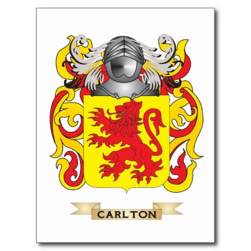 My Bing History: Family Crest Image Carlton - Bing Images