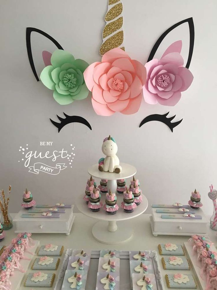 Unicorns Birthday Party Ideas | Photo 1 of 25 | Catch My Party | Unicorn Party #doğumgünüpartileri