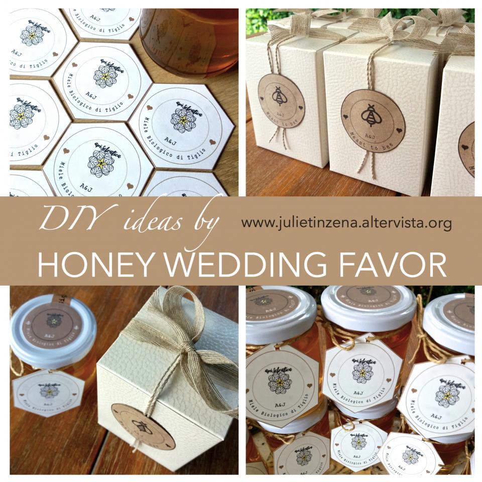 Diy Honey Wedding Favor Party Favors Gift Party Party Ideas Meant To Bee Miele Bomboniere Bomboniere Rustiche Fotolibri Fai Da Te
