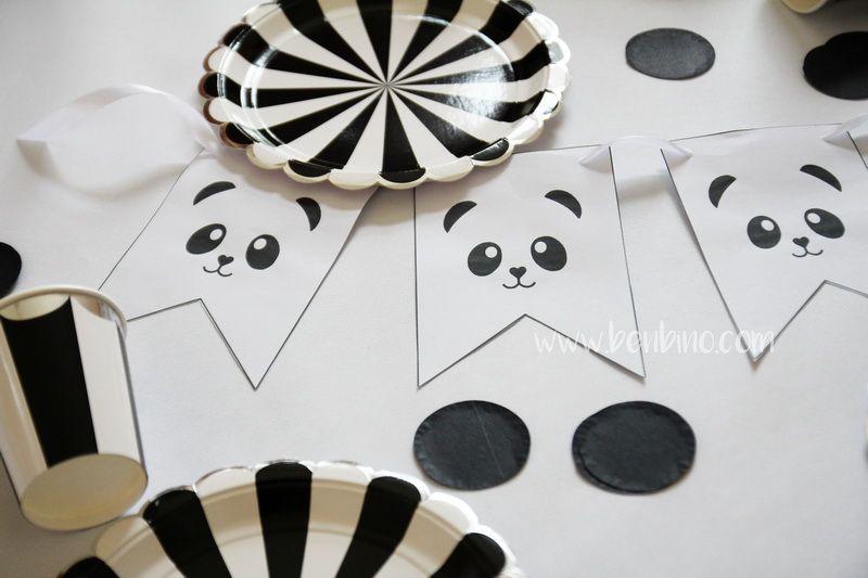 panda mottoparty geburtstag kindergeburtstag. Black Bedroom Furniture Sets. Home Design Ideas