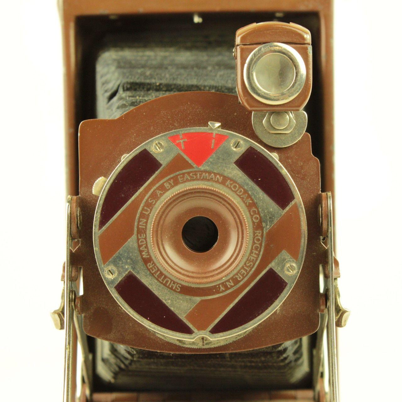 Art Deco Walter Dorwin Teague Design Kodak 1A Gift Folding Camera Set w Case Box | eBay