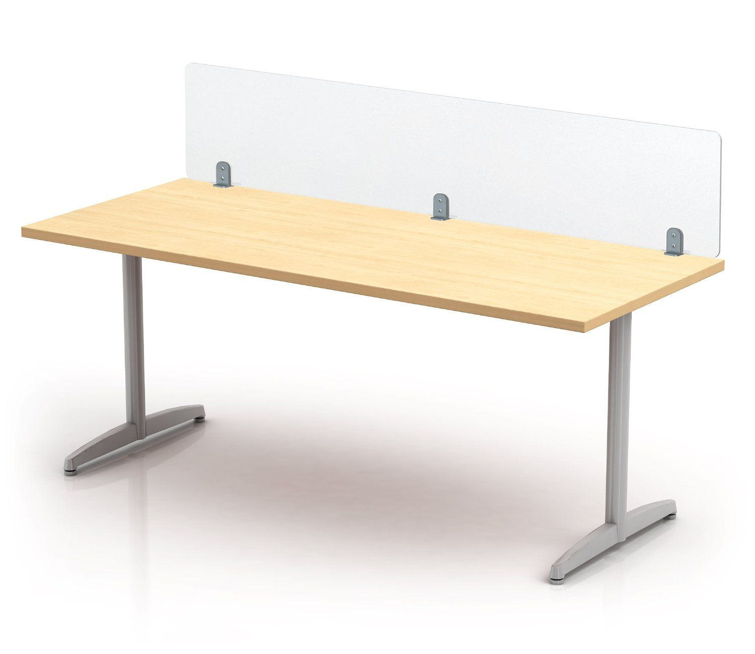 Amazon com : Clamp-on Desk Top Divider, Frosted Acrylic