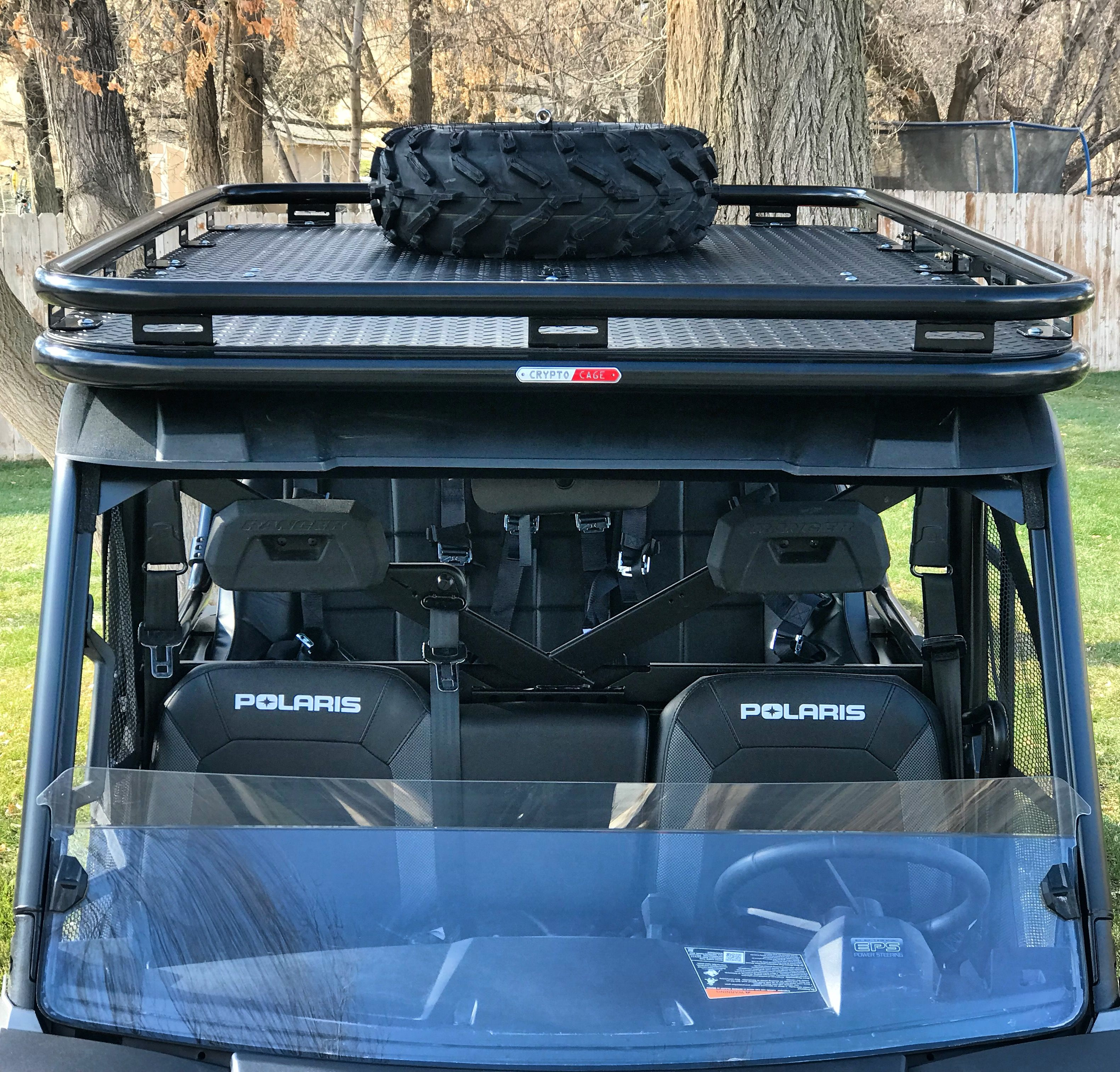 Cryptocage Introduces The Kong Cage For The Polaris Ranger 900 And 1000 The Kong Cage Has A Cab Over Polaris Ranger Polaris Ranger Roll Cage Extension Ranger