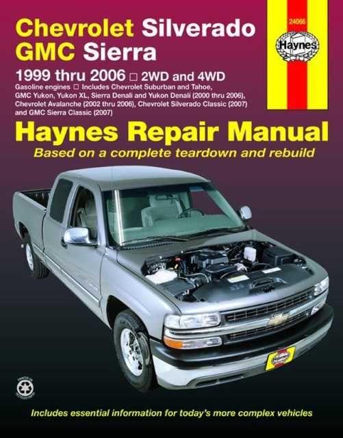 Chevrolet Silverado Gmc Sierra Pick Ups 1999 Thru 2006 Automotive Repair Manual 2wd And 4wd Paperback Overstock Gmc Sierra Chevrolet Silverado Silverado