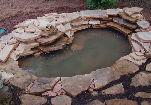 How To Build a Garden Pond With a Waterfall | Pond, Garden ...