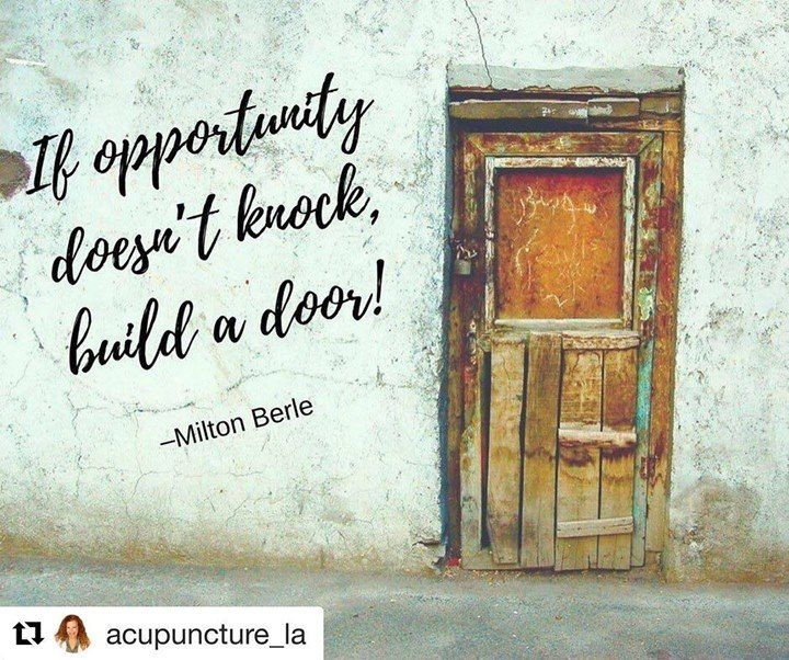 #Repost @acupuncture_la with @repostapp  What are you waiting for? #opportunity #chance #dreams #hopes #goals (view on Instagram http://ift.tt/2mrkYLO) - http://ift.tt/1HQJd81
