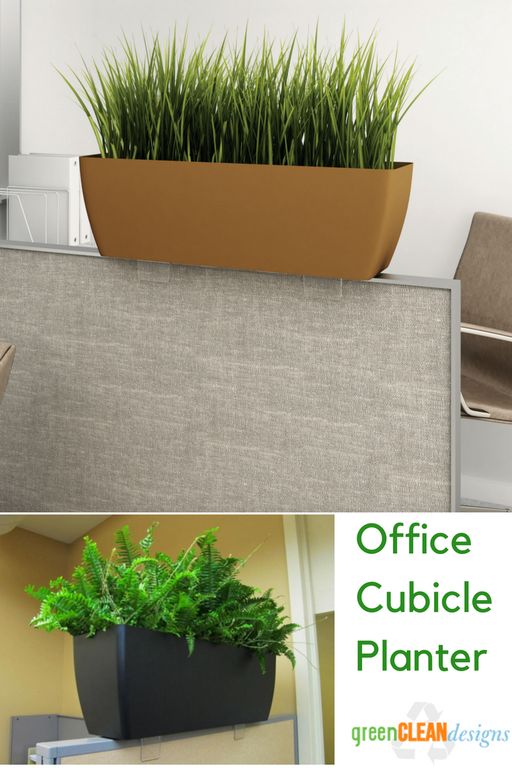 Cubicle Wall Planter Cubicle Accessories Greencleandesigns In 2019 A Better Me 3