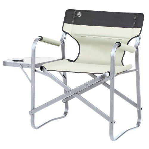 Coleman Campingbedarf Regiestuhl Deck Chair Beige 31552 Coleman