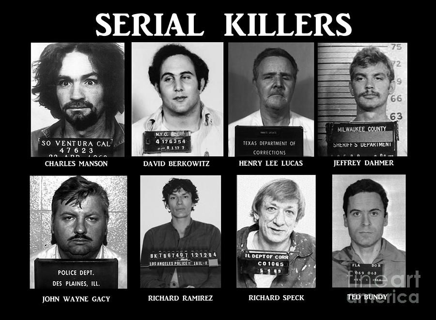 Topic for my essay serial killers?