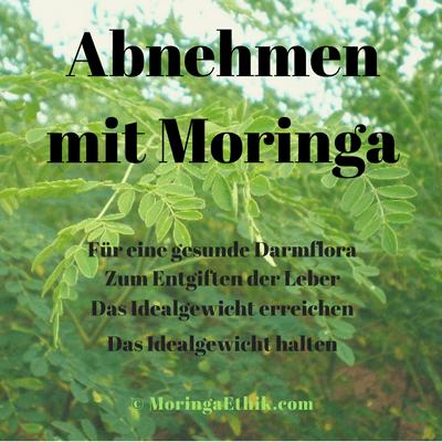 Moringa Tee zur Gewichtsreduktion