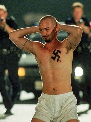 Edward Norton American History X Tattoos : edward, norton, american, history, tattoos, American, History, Ideas, History,