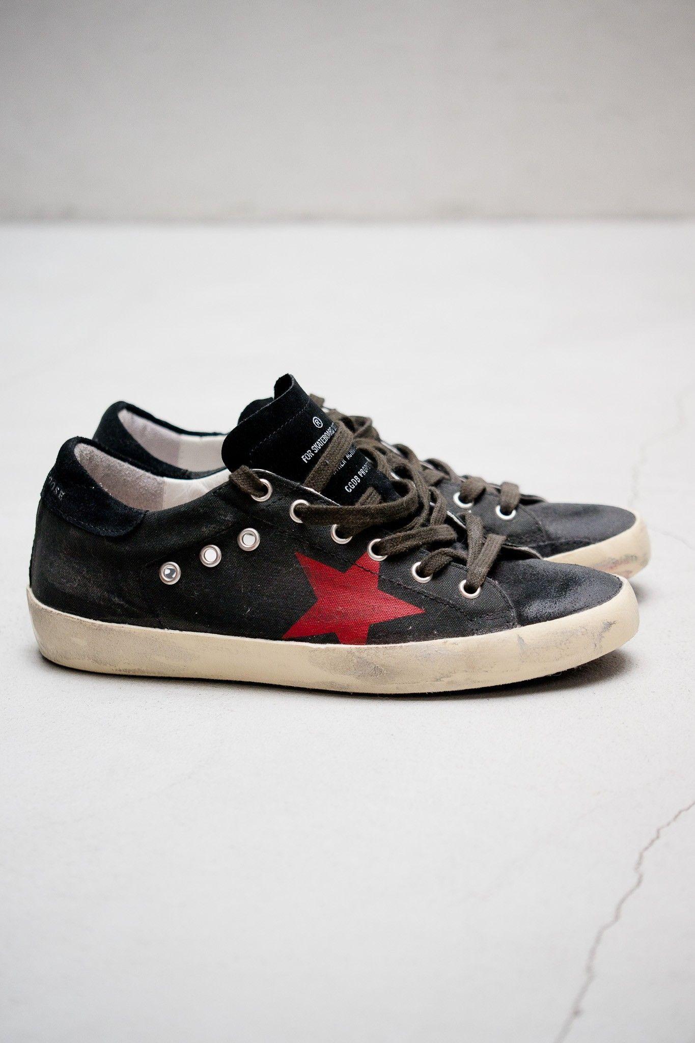 Sneakers May Black Lizard Glitter StarGolden Goose CemHvDgj