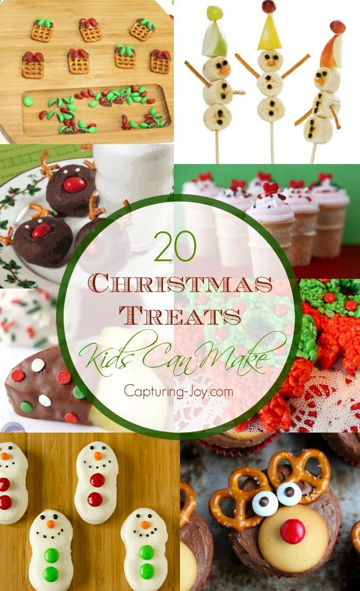 20 Christmas Treats Kids Can Make | Christmas Crafts and Recipes ...