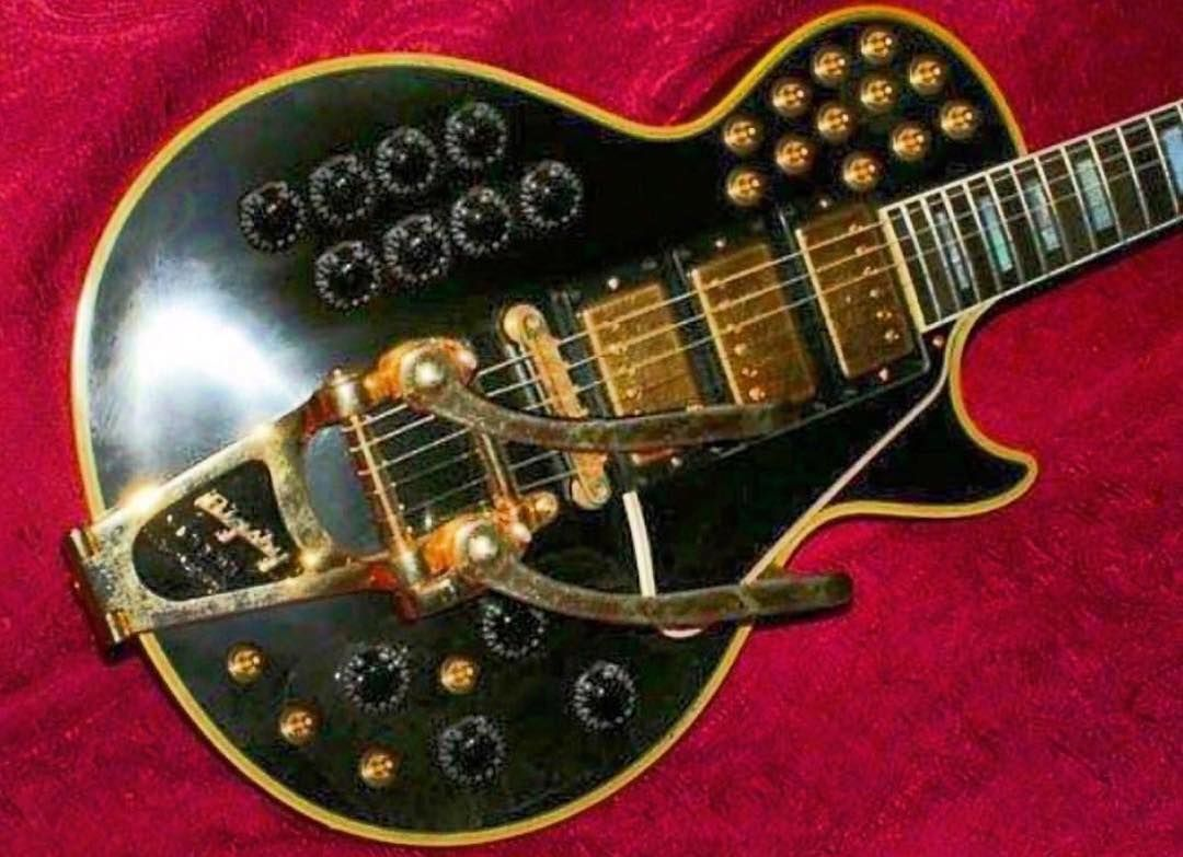 Epi Vs Gibson Selector Switch Mylespaulcom The Crazy Rare Les Paul Custom Black Beauty Switchmaster Model With Factory Wigglesticks 4 Words Can You Dig It