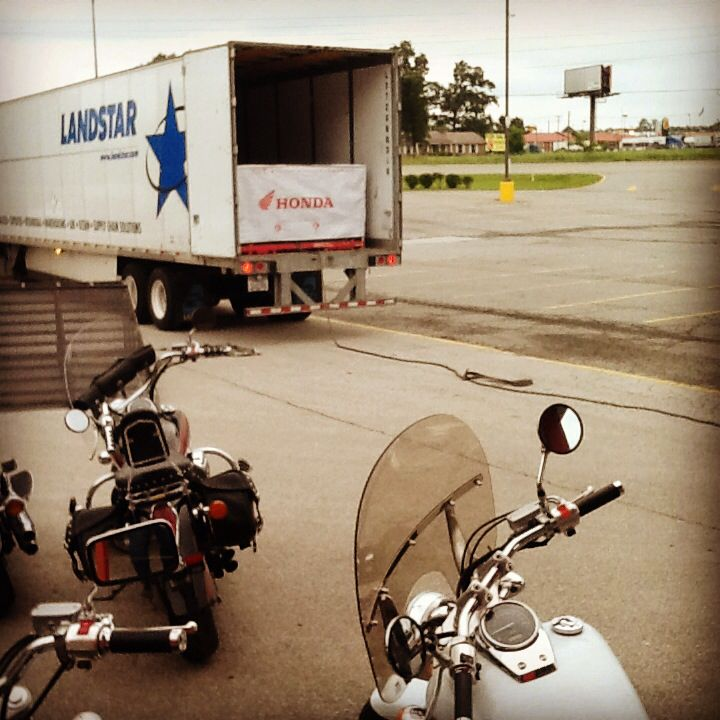 Delivery days are always exciting. heartlandhonda.com