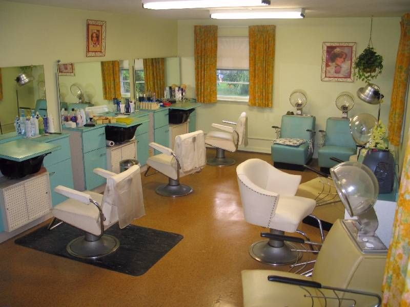 T Style Hair Salon Minneapolis: I Want Some Vintage Beauty Shop Stuff In My Dressing
