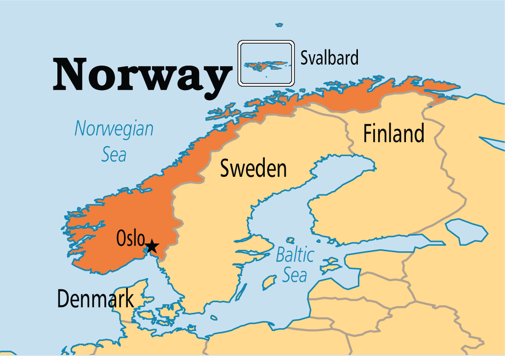 Norway Operation World Been There Norway Pinterest - Norway map picture