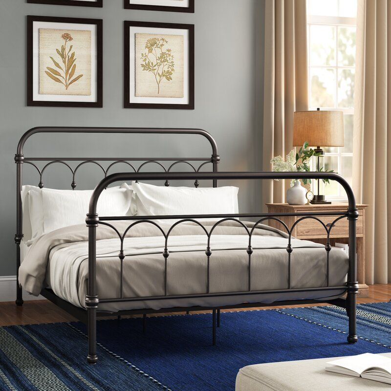 Copake Standard Bed in 2020 Guest bedroom, Bed with
