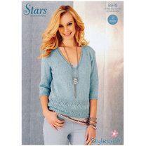 Ladies Sweaters in Stylecraft Stars DK - 8948