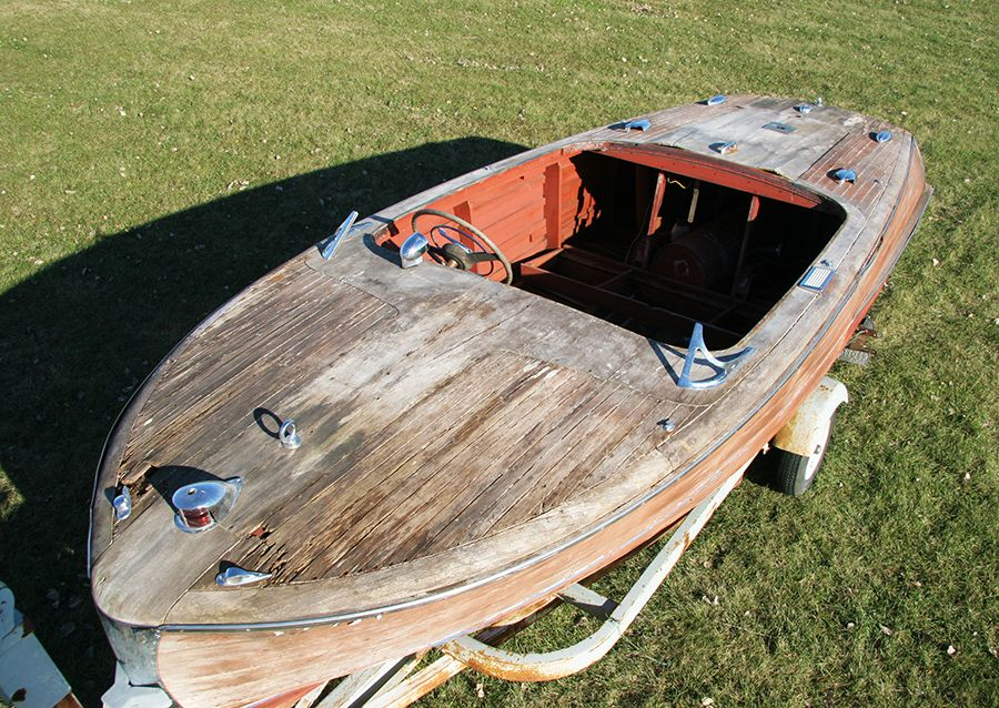 Chris Craft Mahogany Project Boat Wooden Runabout Boats Chris