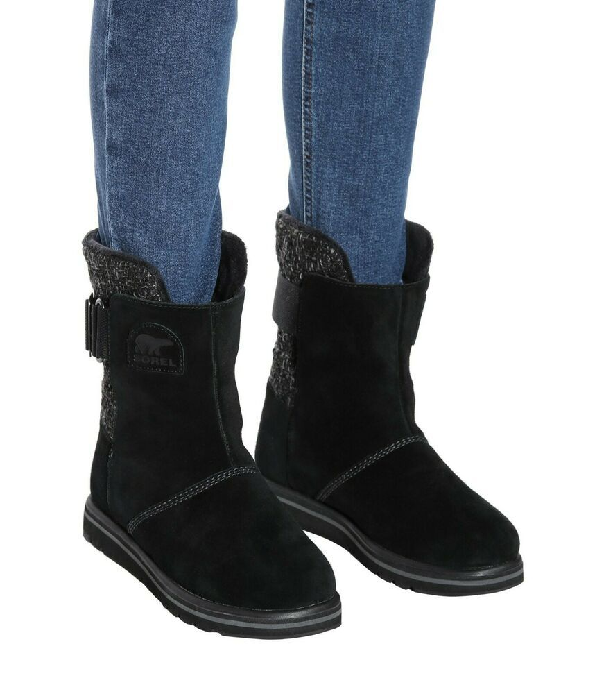 Sorel SHOES Womens Rylee Boots Black